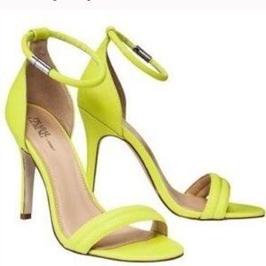 Prabal Gurung Neon Heels